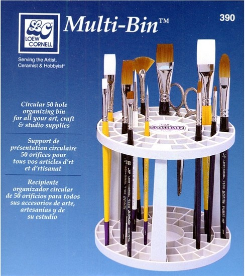 Multi Bin Brush/Tool Holder
