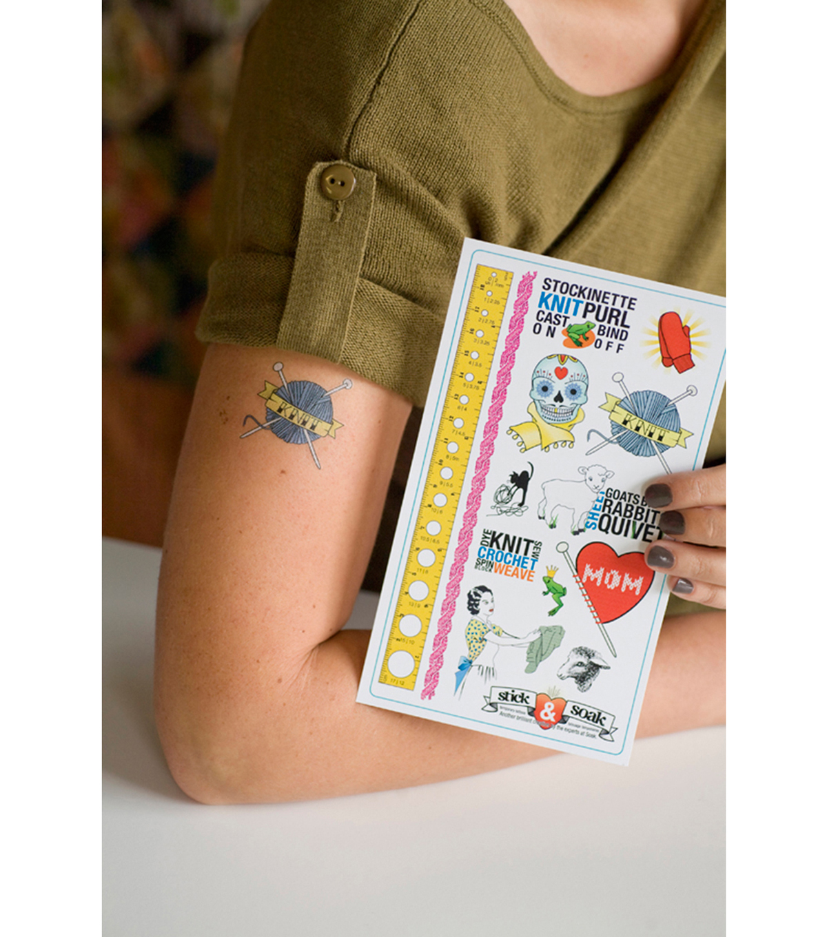 Soak Stick\u0027n Soak Tattoos