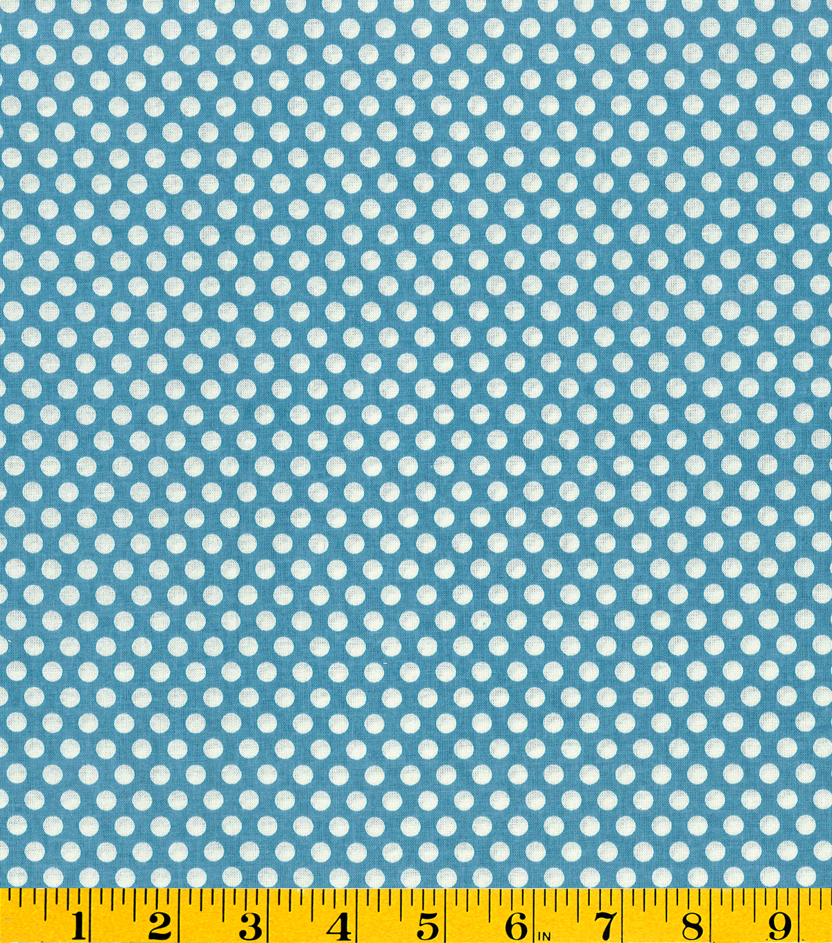 Made in America Cotton Fabric-Polka Dots Blue