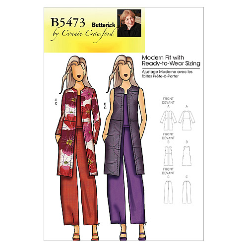 Butterick Women\u0027s Casual-B5473