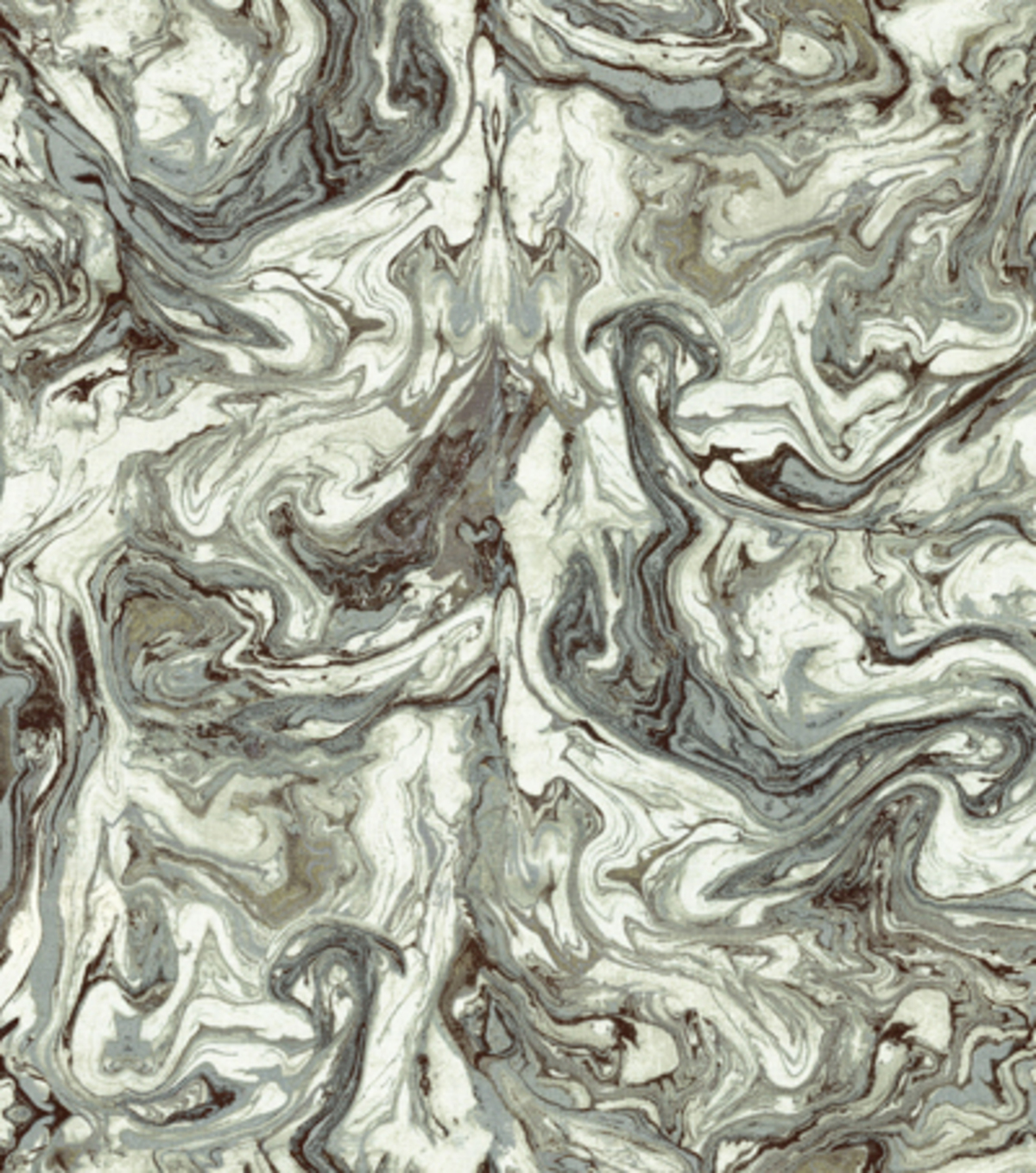 "HGTV Home Upholstery Fabric 54""-Marbleized Zinc"