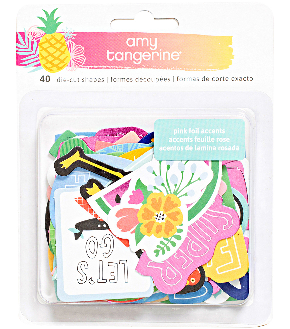 American Crafts Amy Tangerine Ephemera Cardstock Die-Cuts-On A Whim