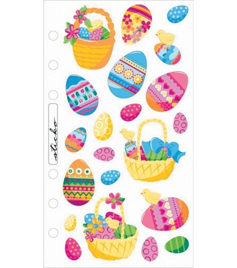 Classic Stickers-Easter Eggs