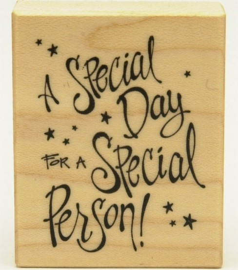 Inkadinkado Rubber Stamp-Special Person