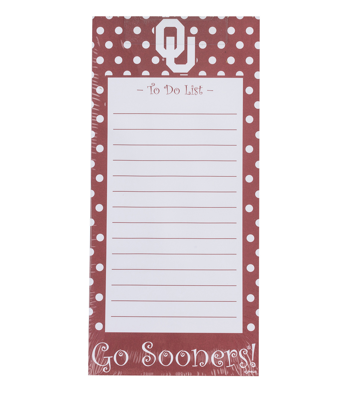 University of Oklahoma To-Do List