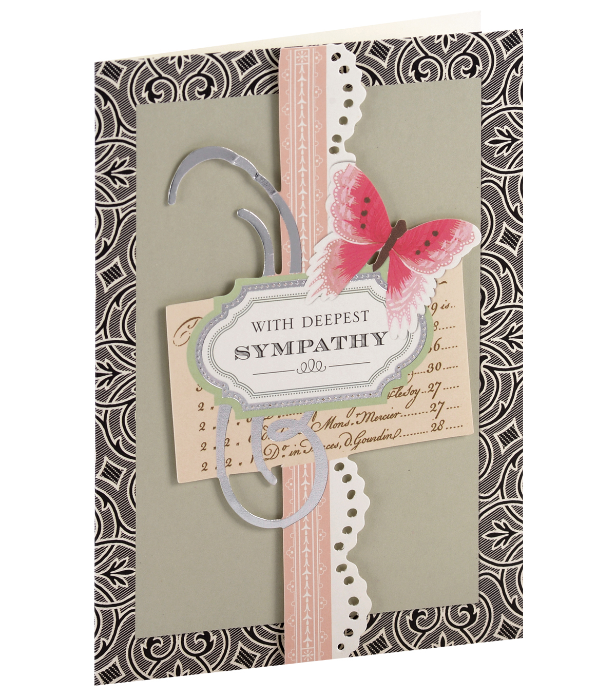 Anna Griffin Card Kit Sympathy Eleanor