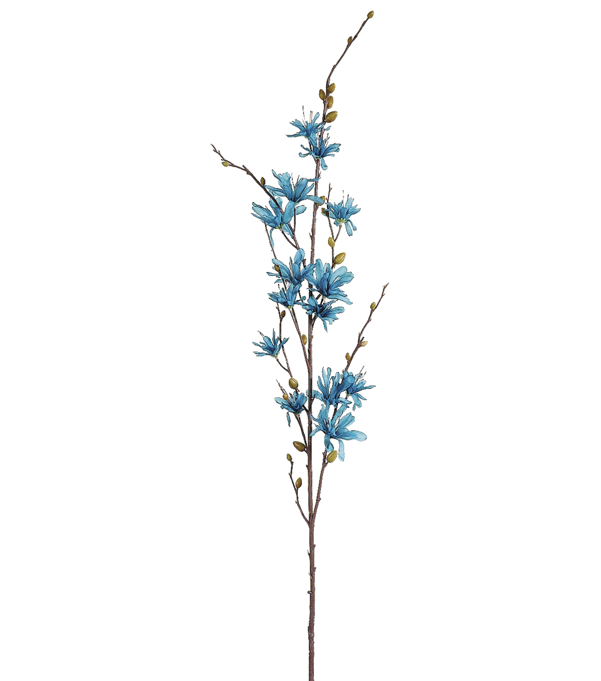 Bloom Room 34\u0022 Winter Lily Spray-Turquoise