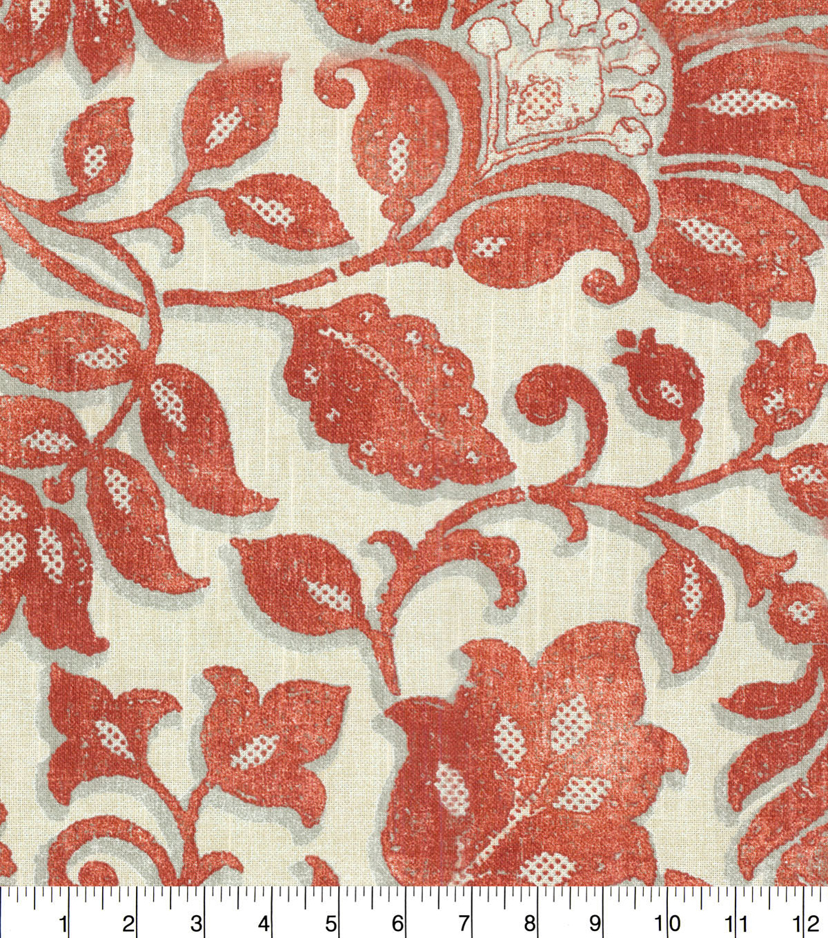 Waverly Upholstery Fabric 54\u0022-Imaginary Coral