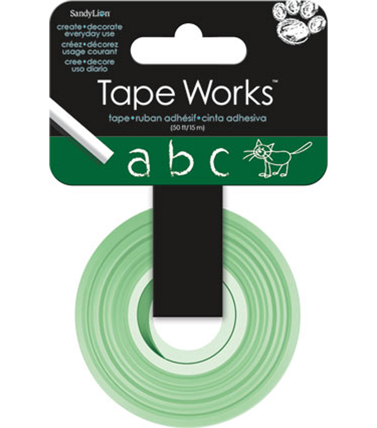 Tape Works Chalk Tape- Green