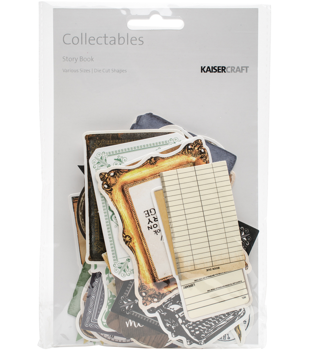 Kaisercraft Collectables Cardstock Die-Cuts-Story Book