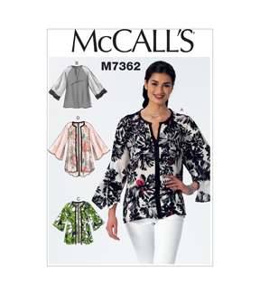 McCall's Misses Top-M7362