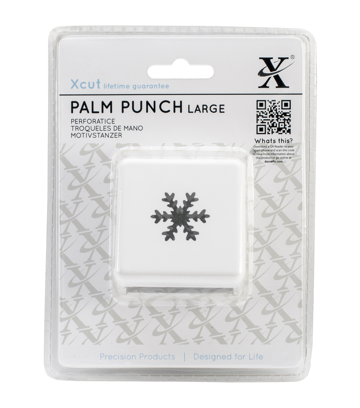 Xcut Large Palm Punch-Snow Crystal