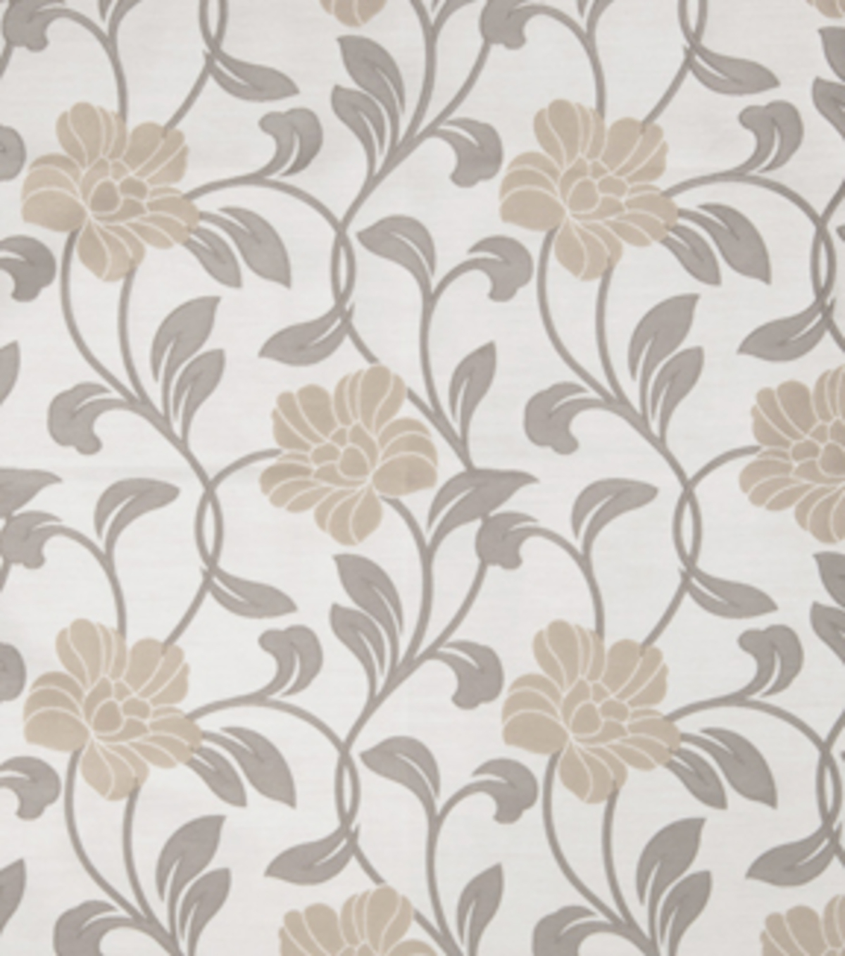 Home Decor 8\u0022x8\u0022 Fabric Swatch-Print Fabric Eaton Square Lloyd Grey
