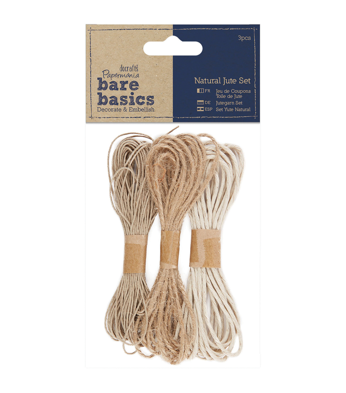 Papermania Bare Basics Natural Jute Twine
