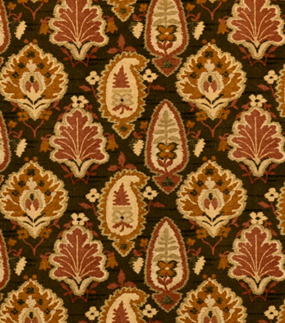 Home Decor 8\u0022x8\u0022 Fabric Swatch-Covington Medina 61 Autumn