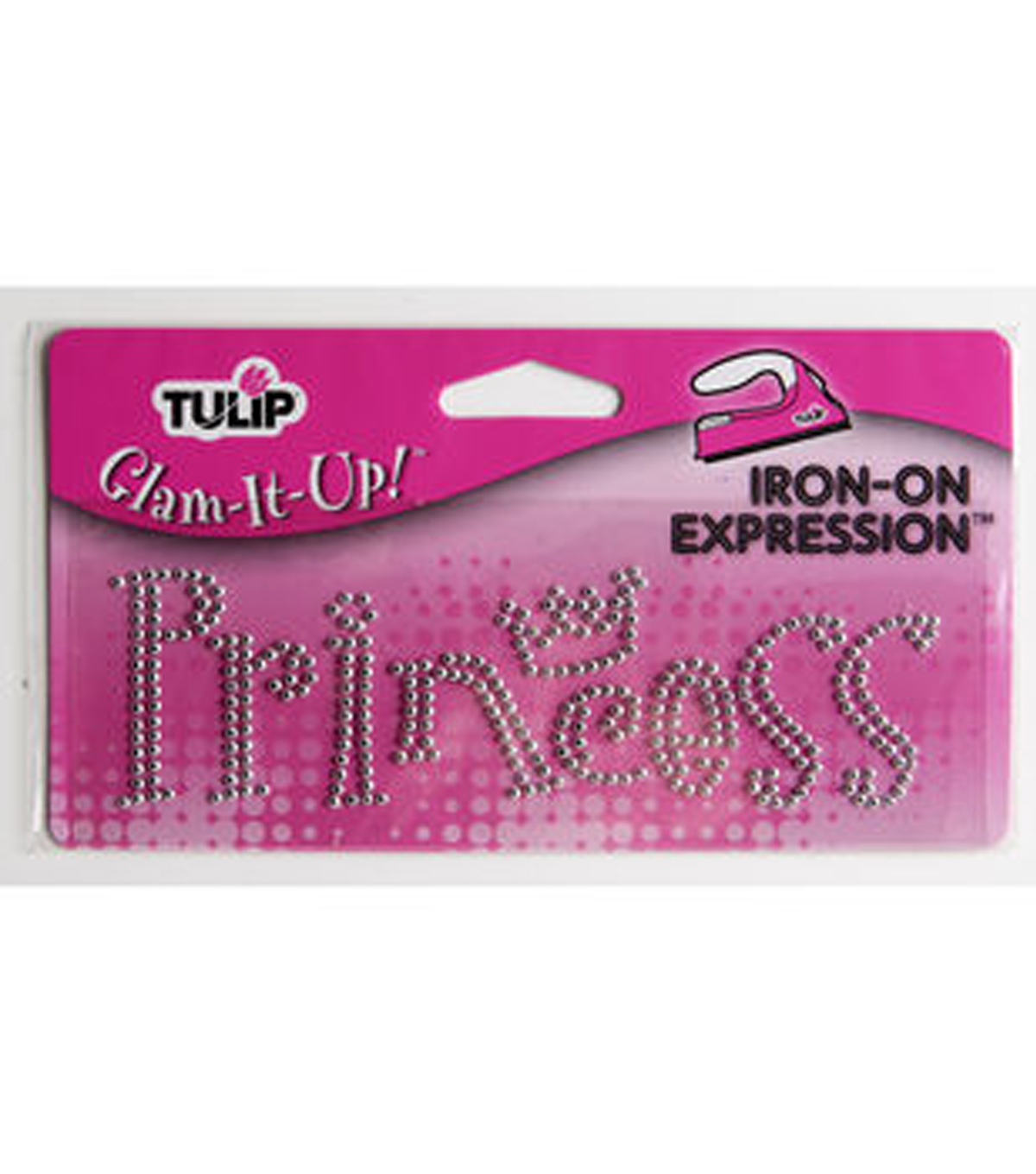 Tulip® Glam-It-Up!™ Iron-On Expressions- Princess