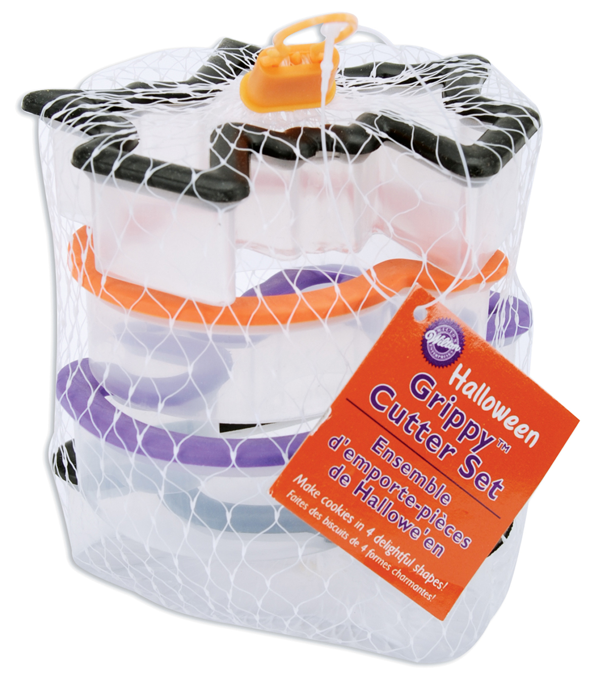 Wilton Halloween Comfort Grip Cookie Cutter 4pc Set