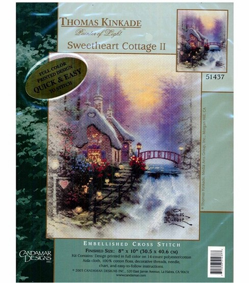 Thomas Kinkade Sweet Heart Cottage II Kit