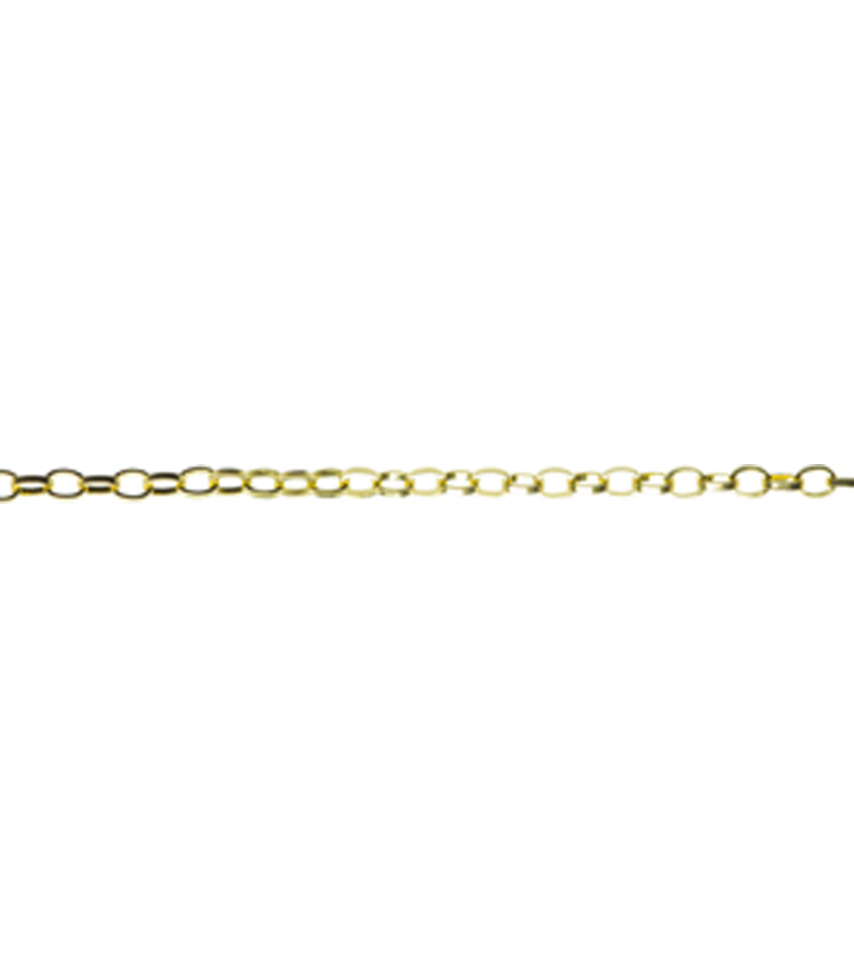 Jewelry Basics 30in/76.2cm Gold Open Link Chain by Cousin