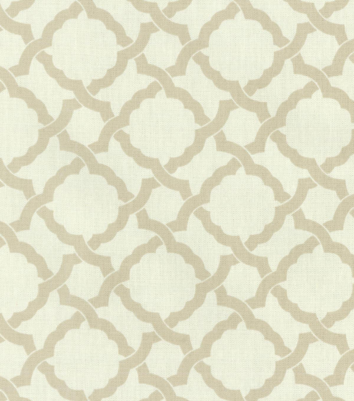 Waverly Upholstery Fabric-Kent Crossing/Linen