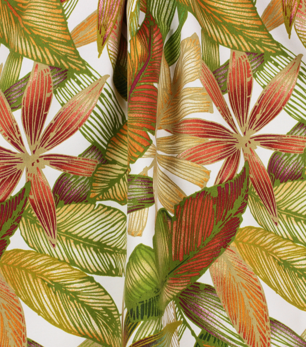 Solarium Outdoor Print Fabric 54\u0027\u0027-Jungle Sienna