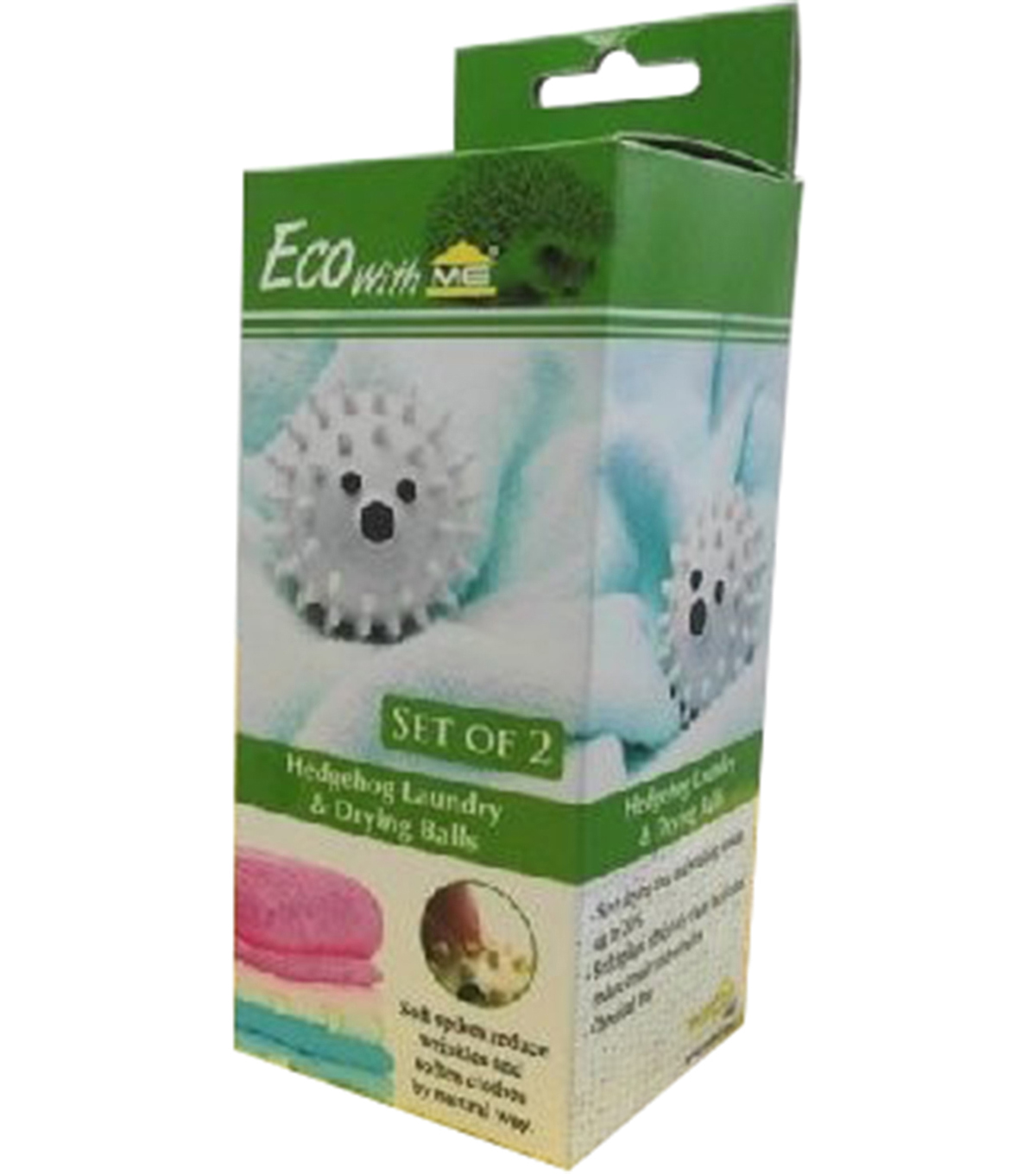 Innovative Home Creations 2 pk Hedgehog Laundry & Drying Balls