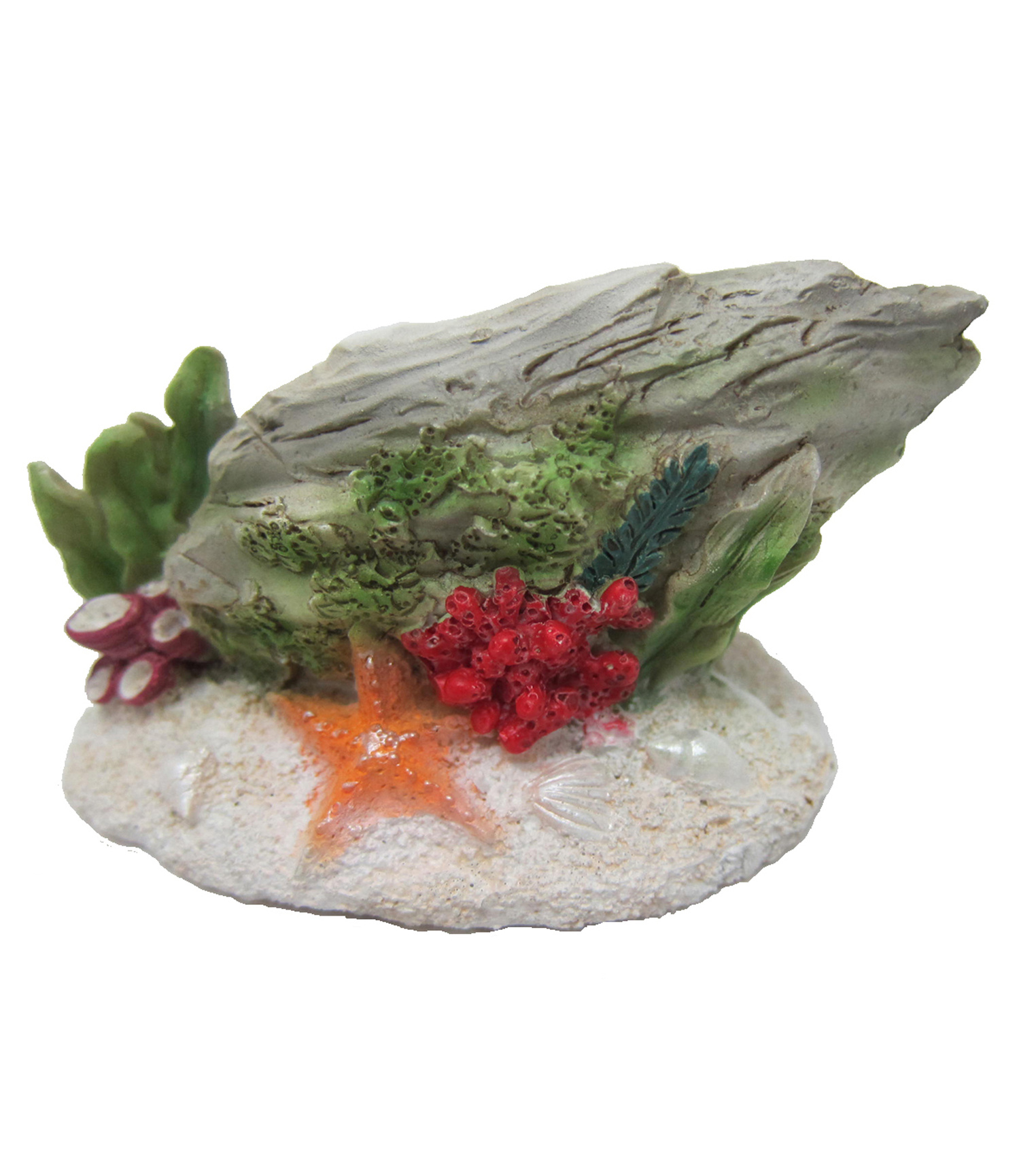 Bloom Room Littles Resin Stone with Coral