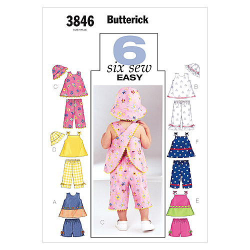 Butterick Infants Casual-B3846