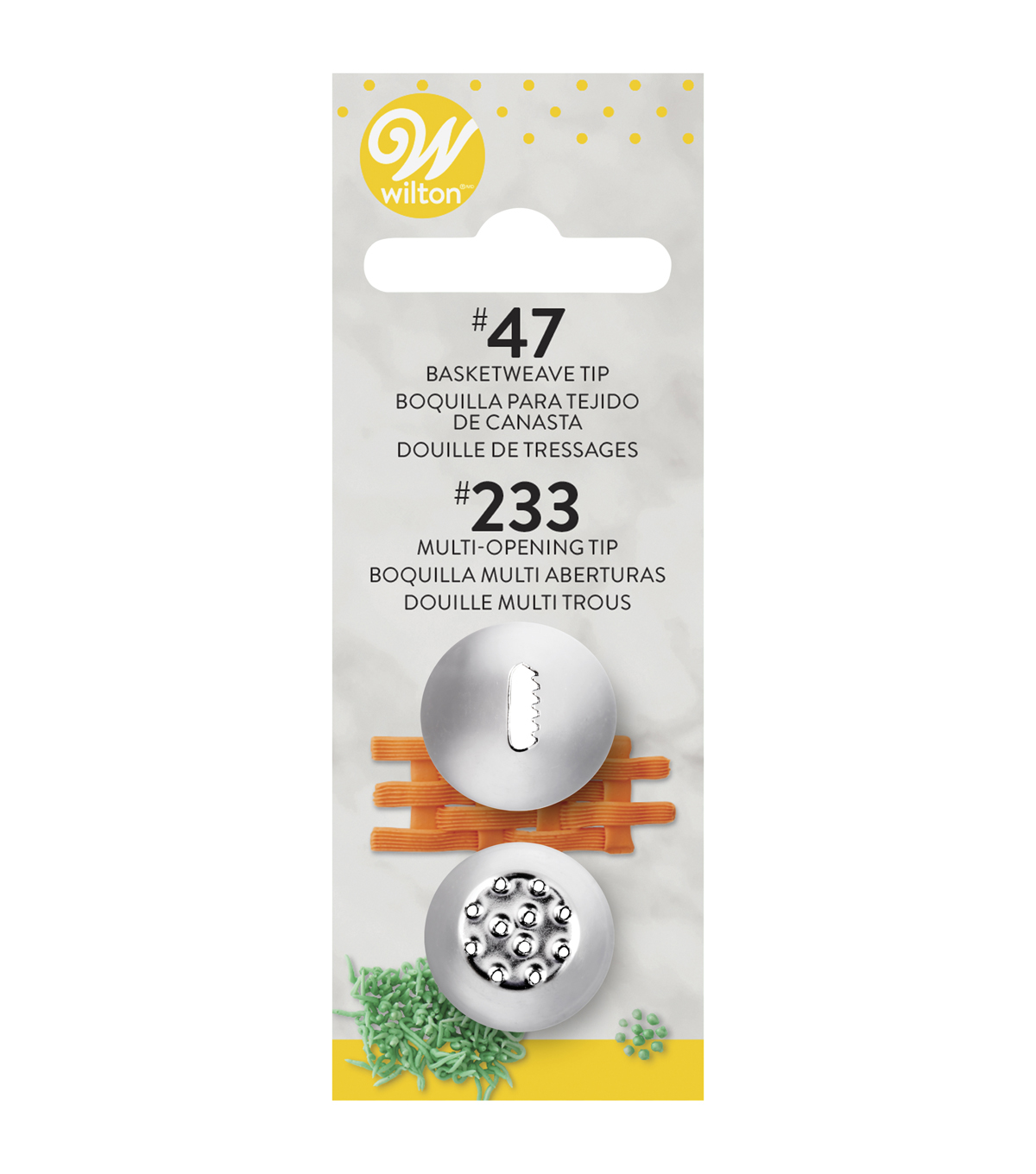 Decorating Tip Set 2PK-#47/#233