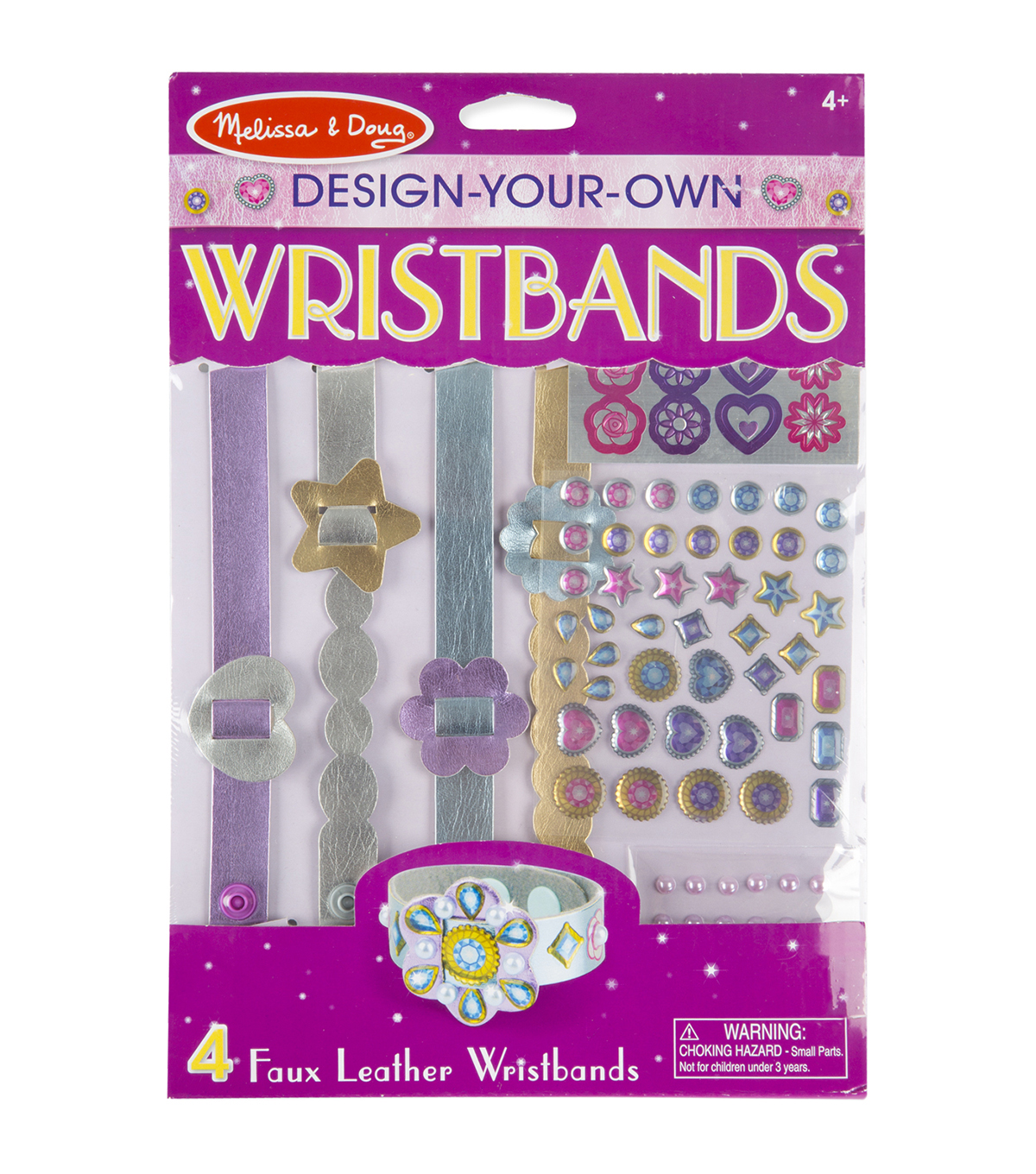 Melissa & Doug Design-Your-Own Jewelry Kit-Wristbands