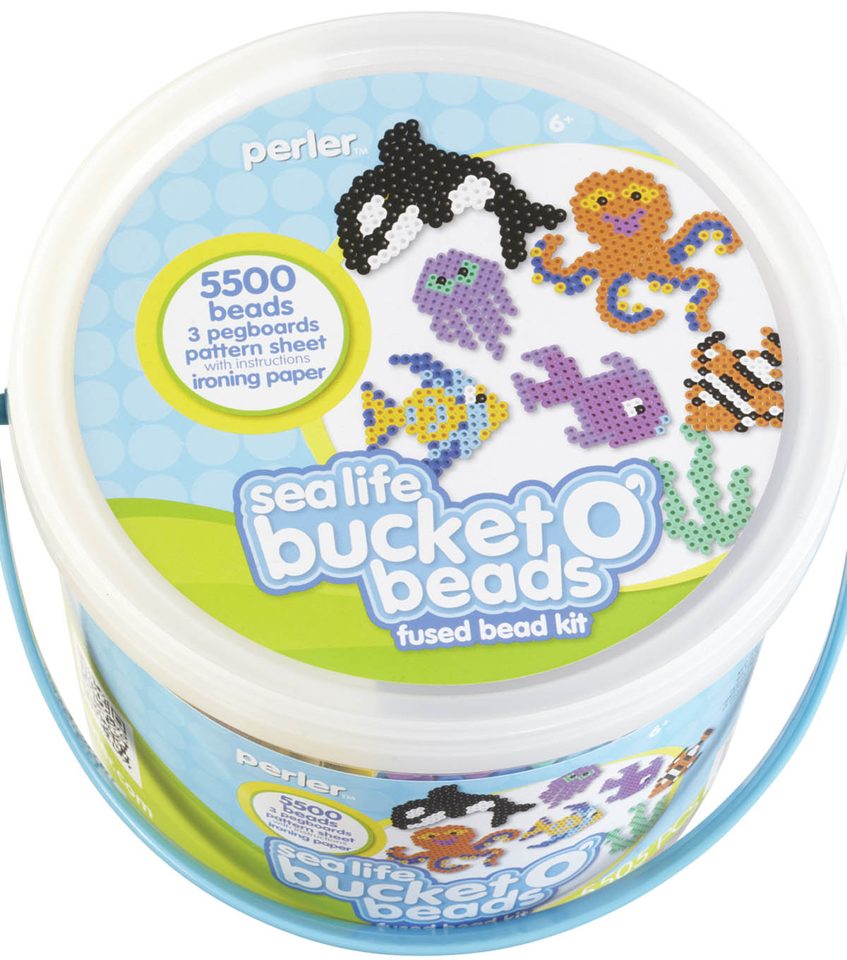Perler Fused Bead Bucket Kit-Sea Life
