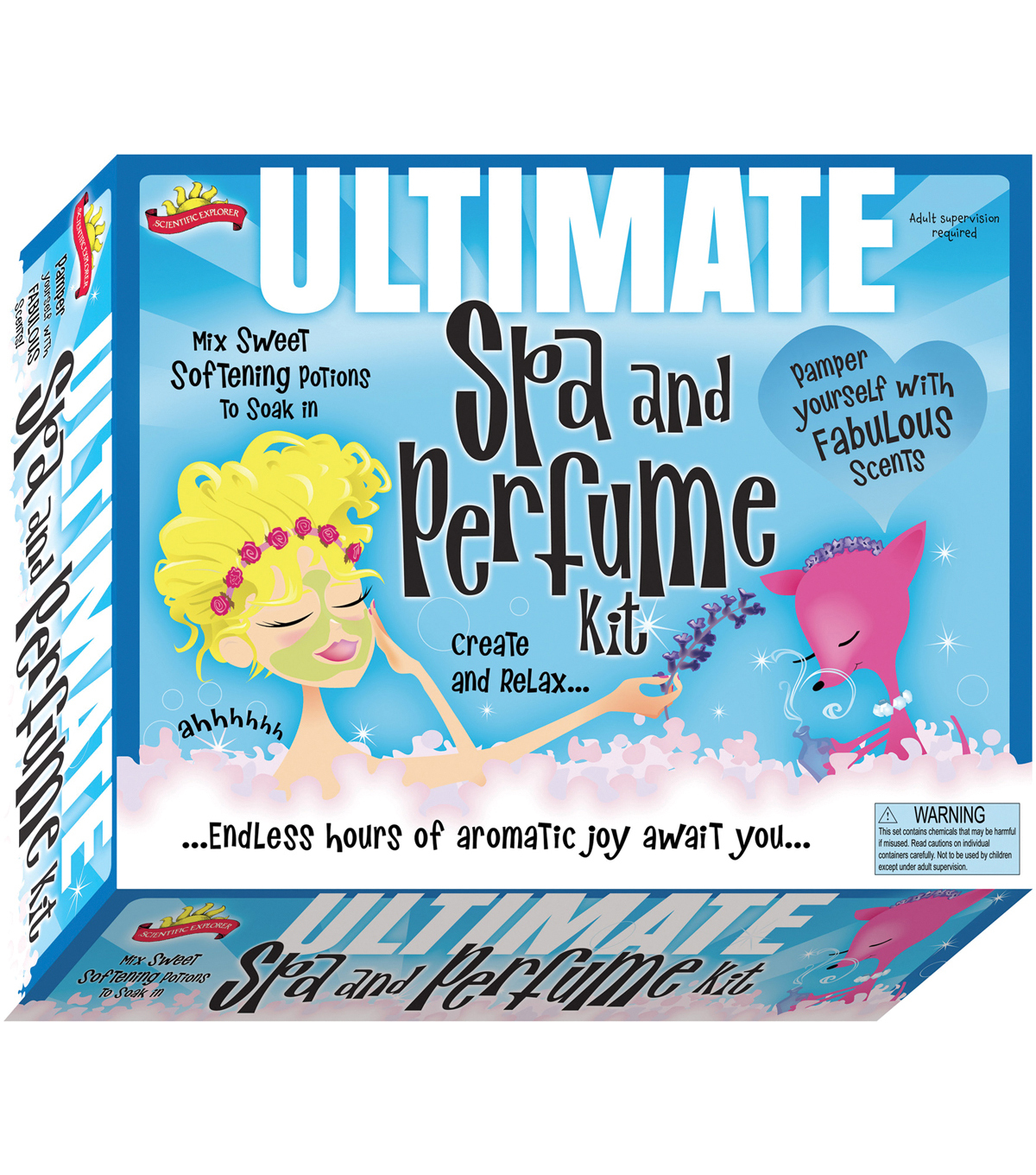 Elmer\u0027s Products Scientific Explorers The Ultimate Spa & Perfume Kit