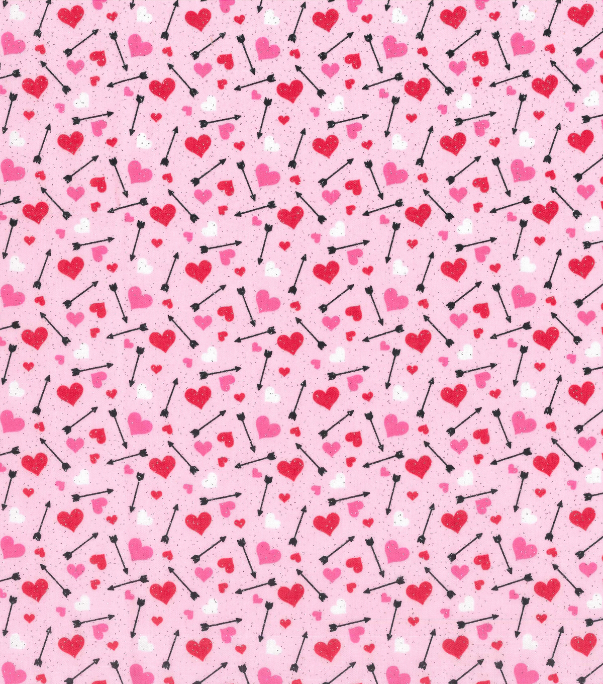 valentines day glitter fabric