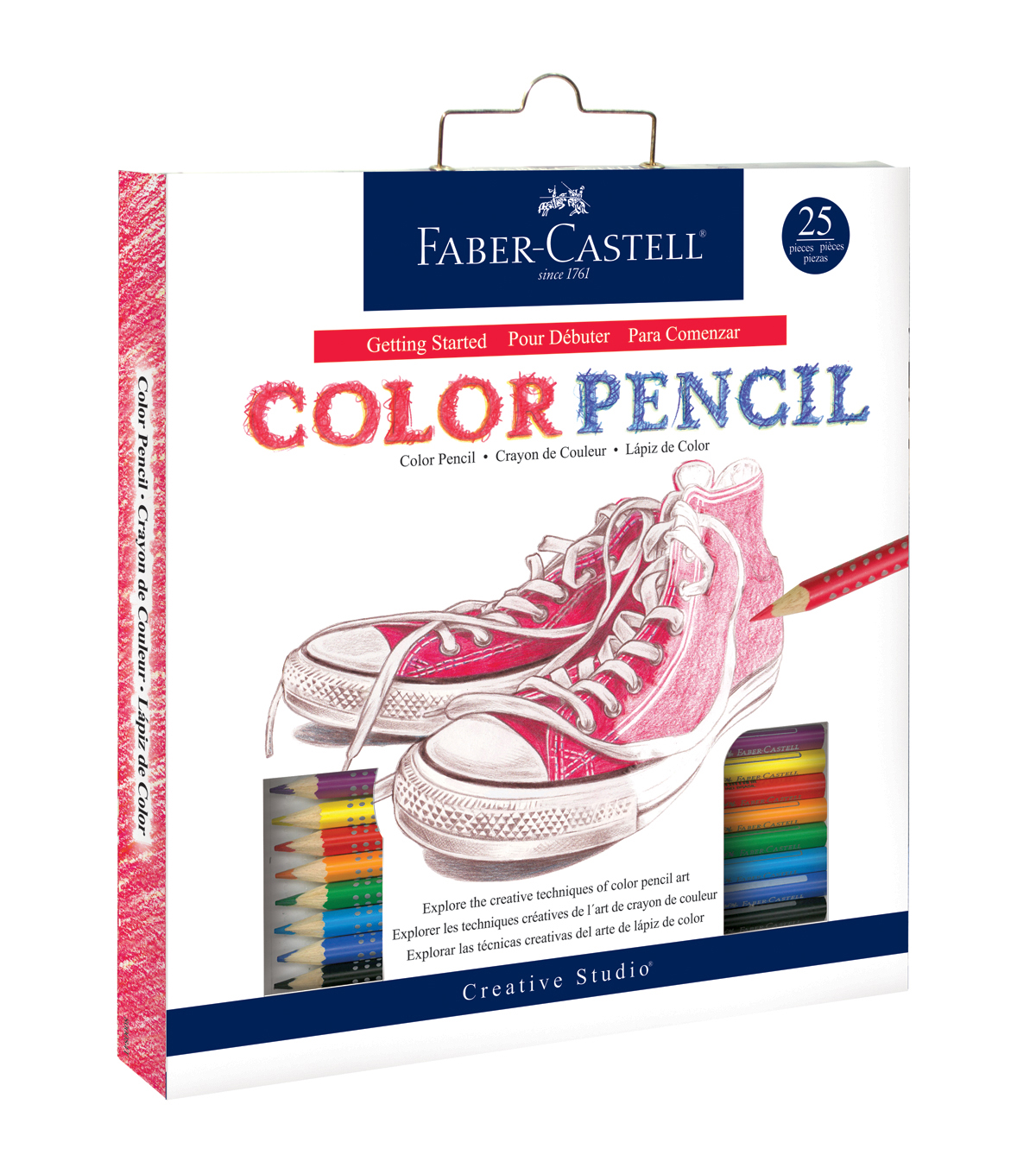 Creative Studio Getting Started Art Kit-Color Pencils
