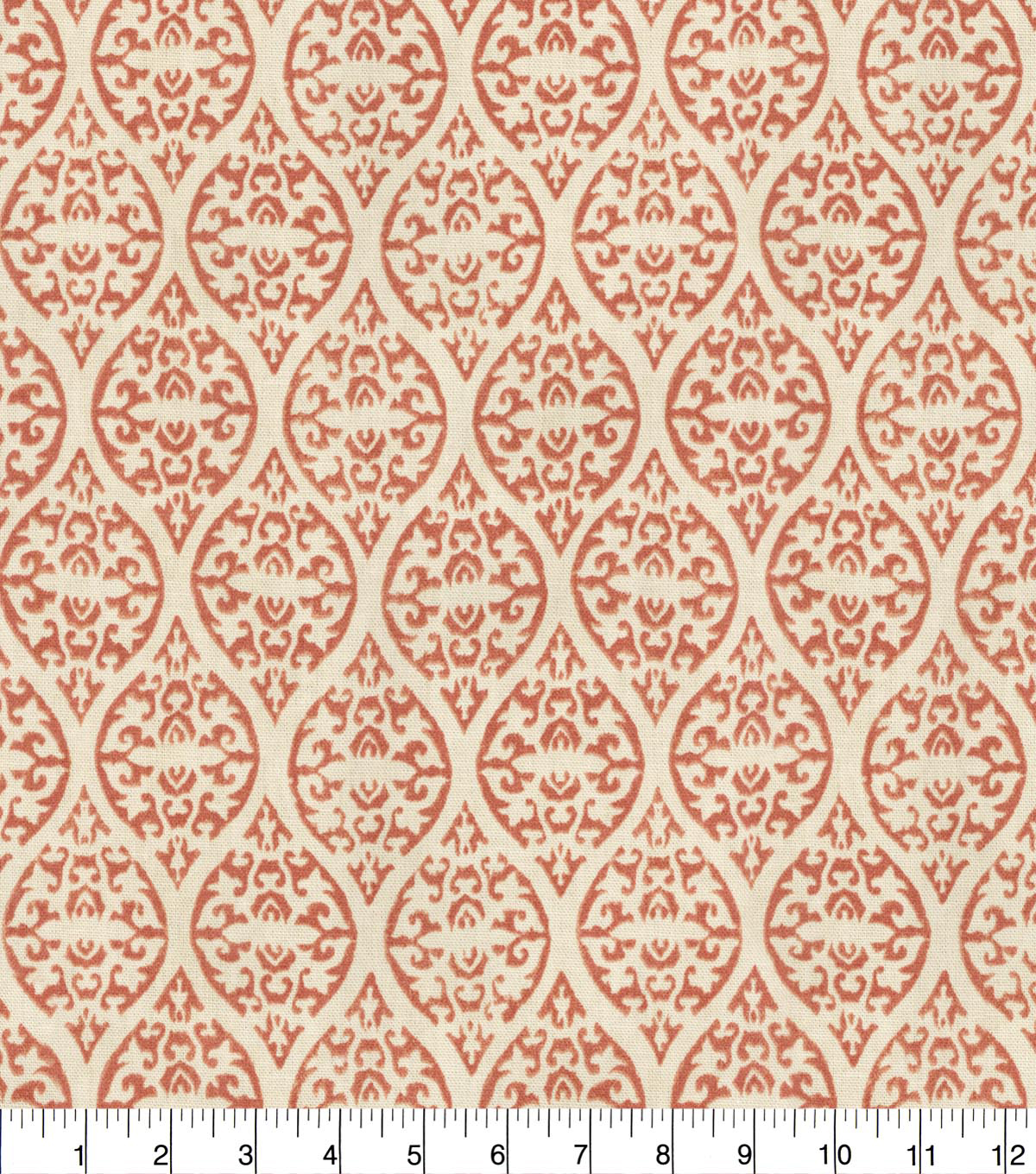 Waverly Upholstery Fabric 54''-Coral Ulla