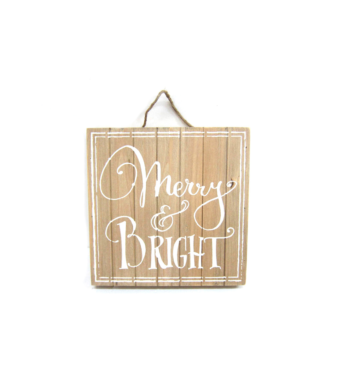 Holiday Cheer Wood Wall Decor-Merry Bright