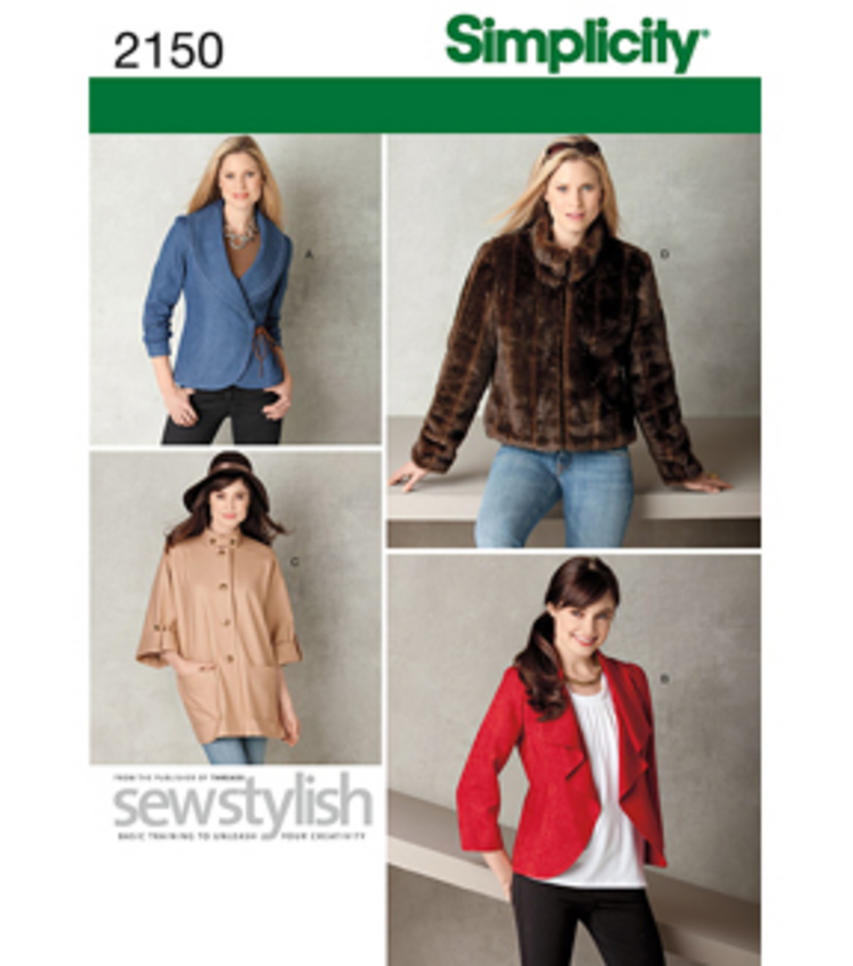 Simplicity Pattern 2150H5 6-8-10-12--Simplicity Misses