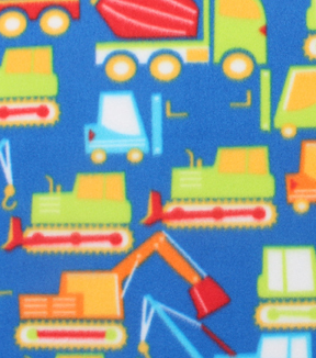 Blizzard Fleece Fabric 59\u0022-Bright Construction