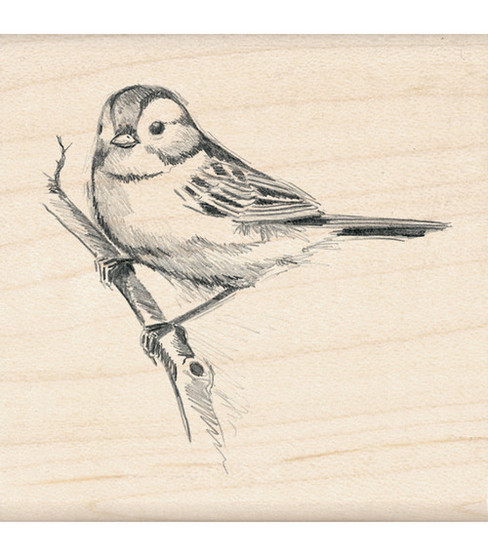 Inkadinkado® Rubber Stamp-Sparrow