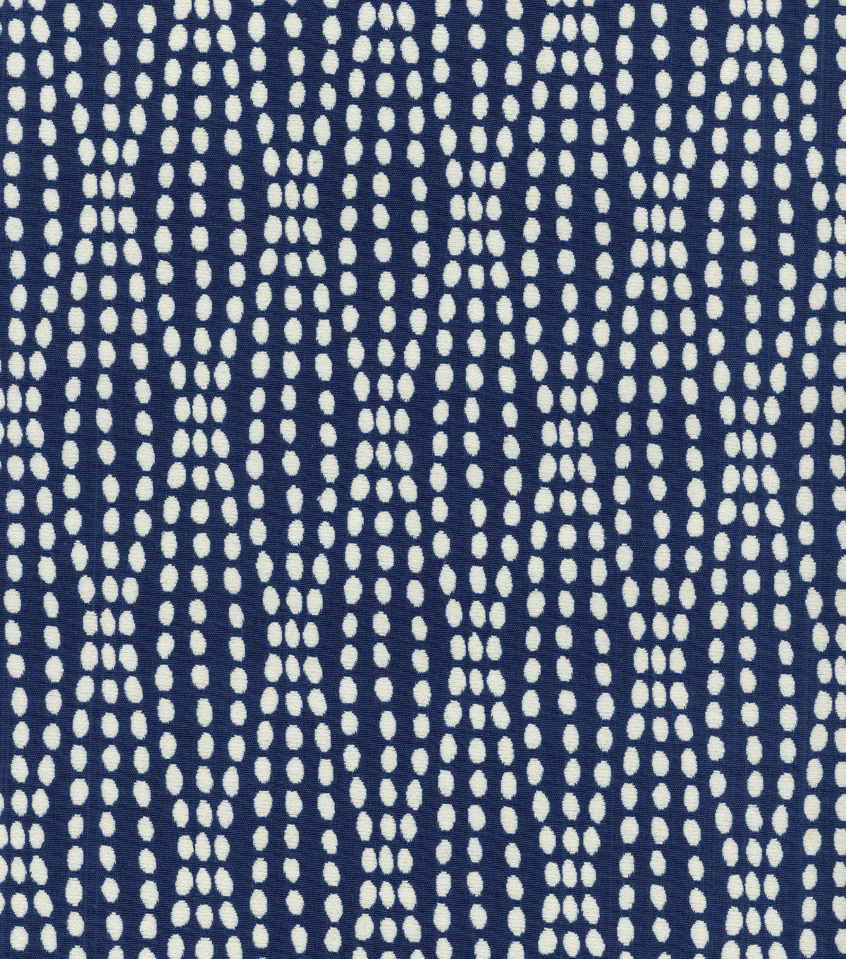 Waverly Upholstery Fabric 54\u0022-Strands Navy