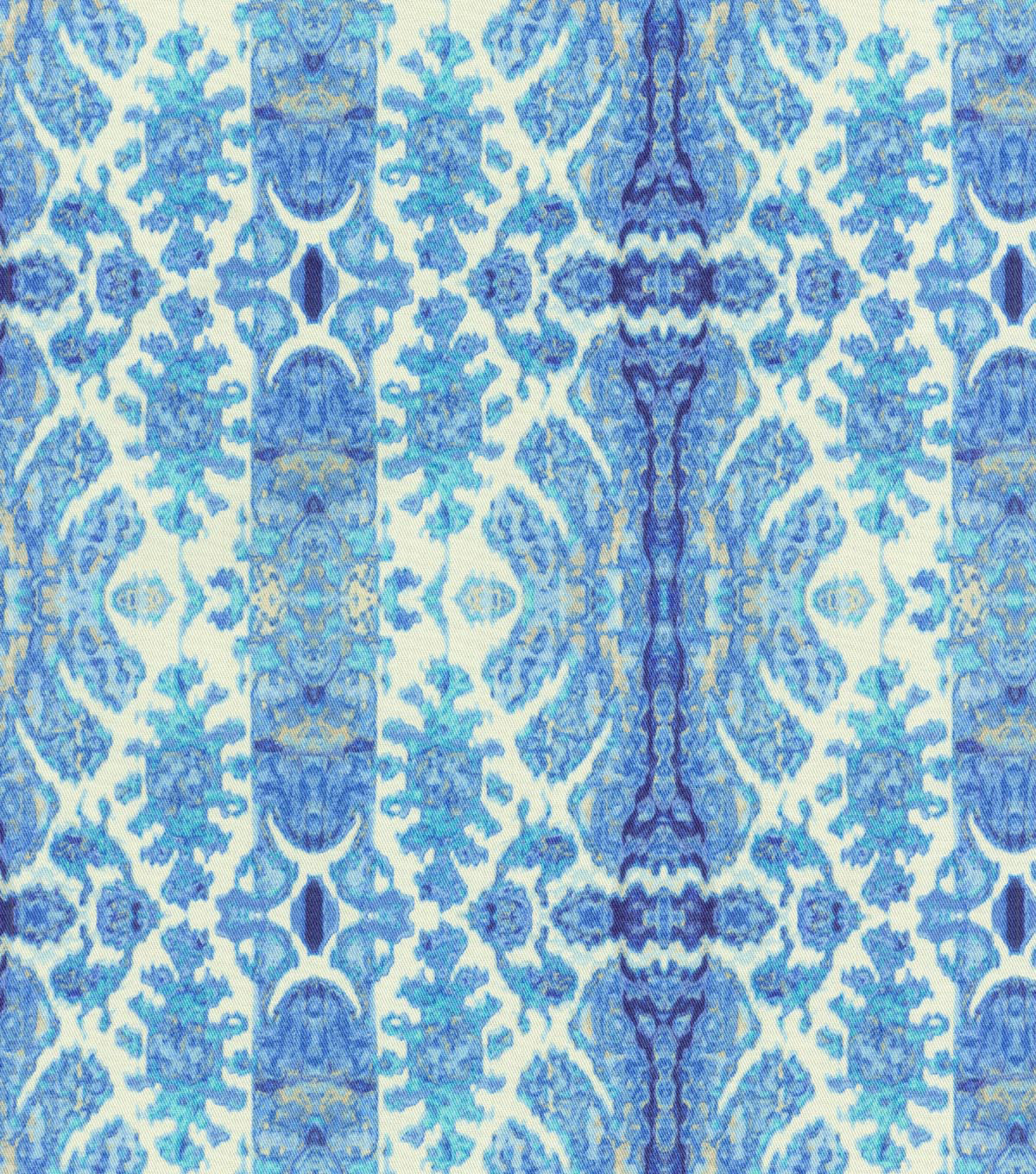 "Home Decor 8""x8"" Swatch Fabric-Tracy Porter Rue Sapphire"