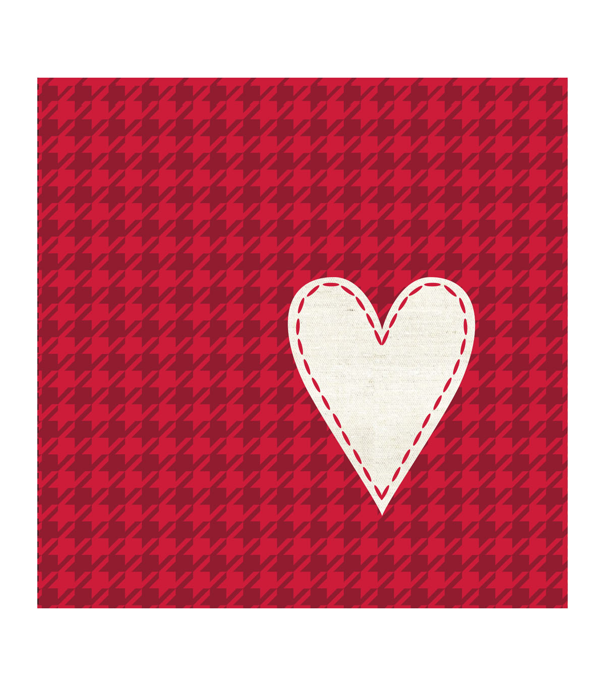 valentineu0027s day pack of 20 paper lunch napkins