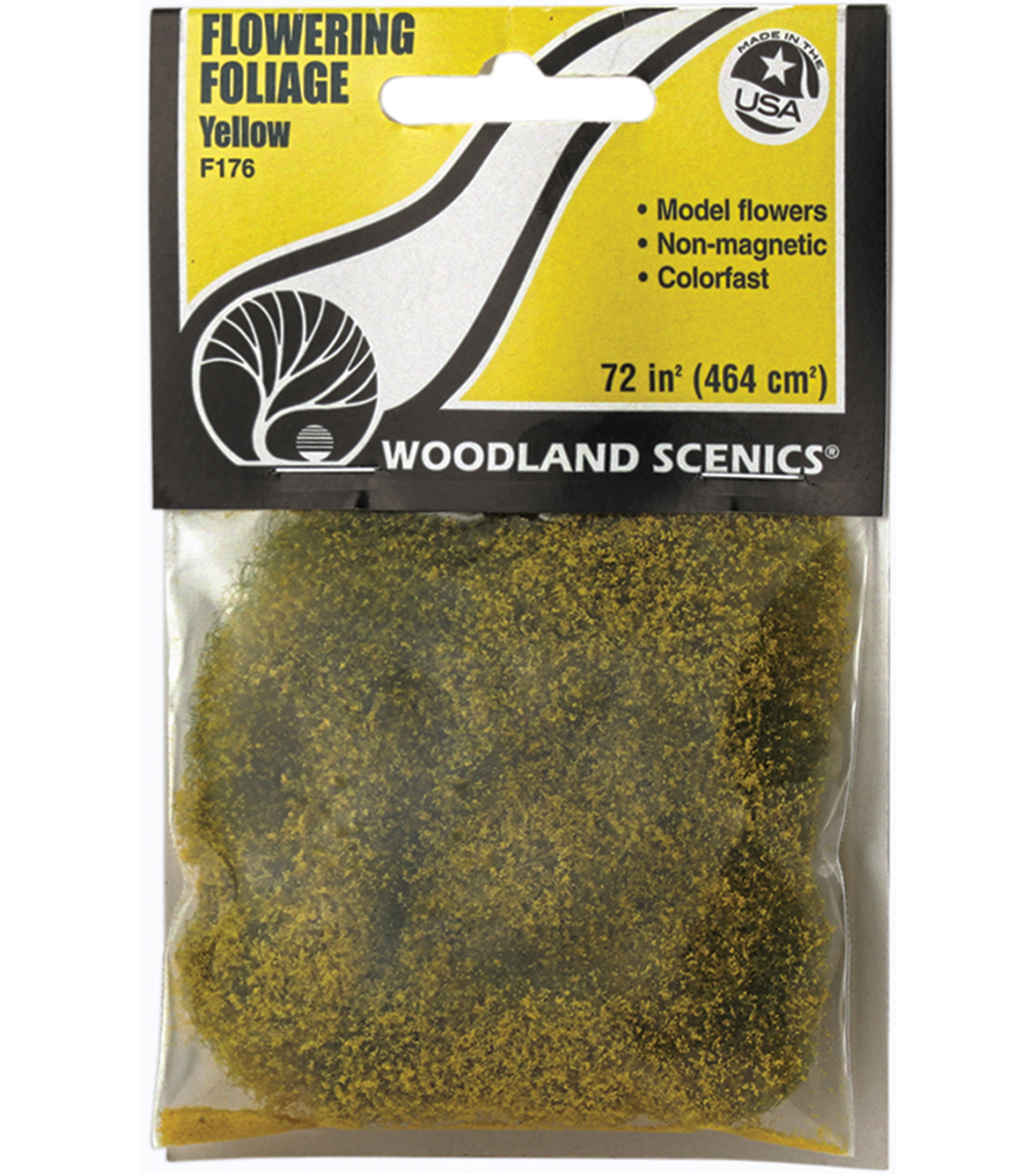 Woodland Scenics 72 Square Inches Flowering Foliage
