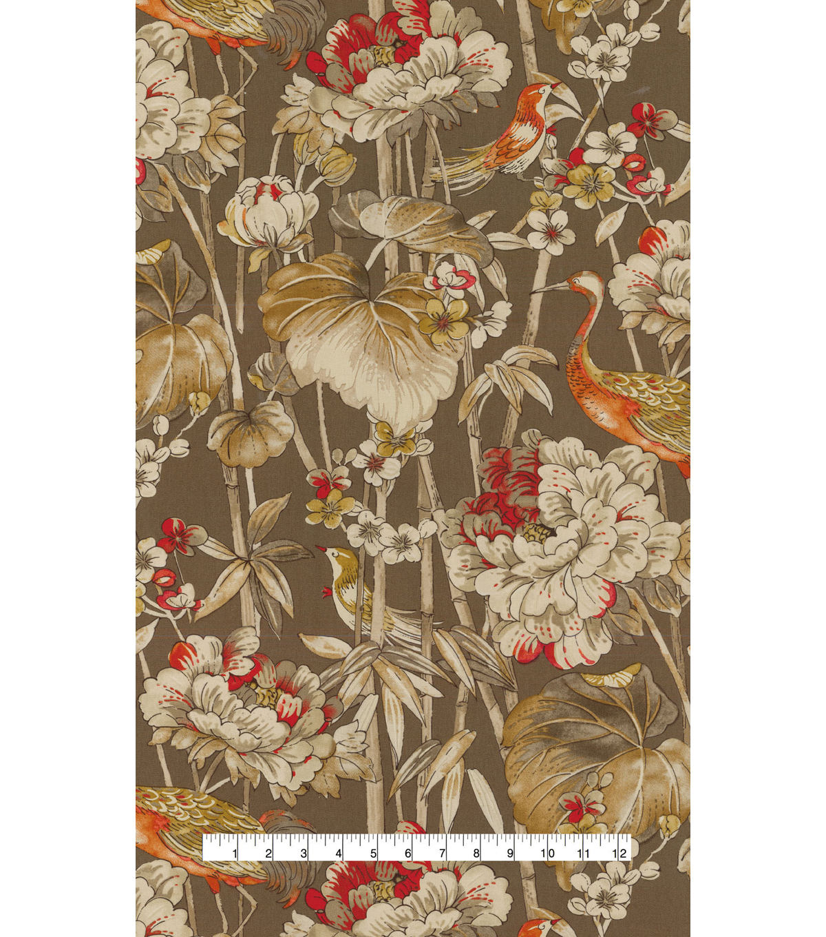 Waverly Upholstery Fabric 54\u0022-Peace Garden Cordial