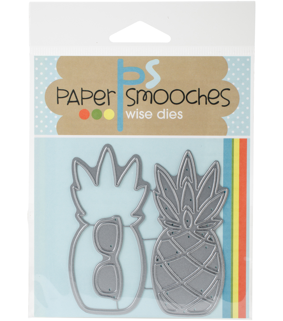 Paper Smooches Dies-Pineapple 2
