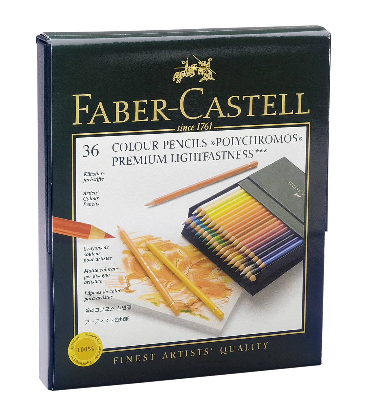 Faber-Castell® 36ct Polychromos Colored Pencils