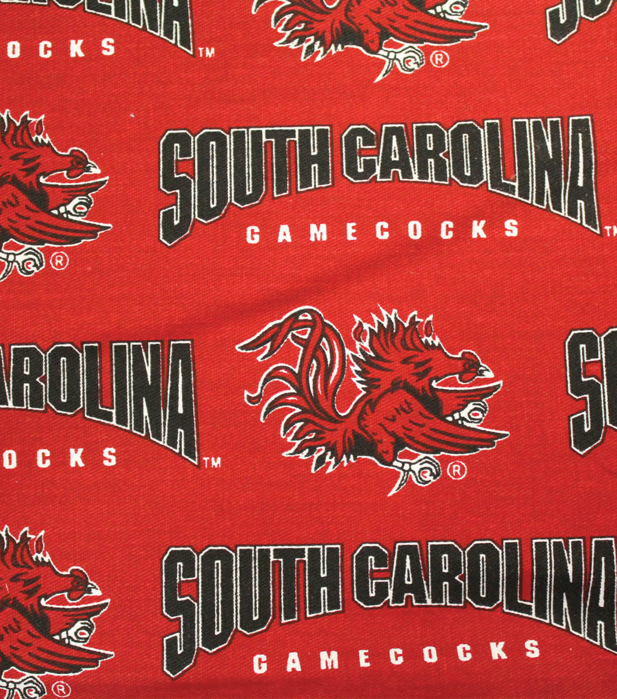 "University of South Carolina Gamecocks Canvas Fabric 58""-Logo"