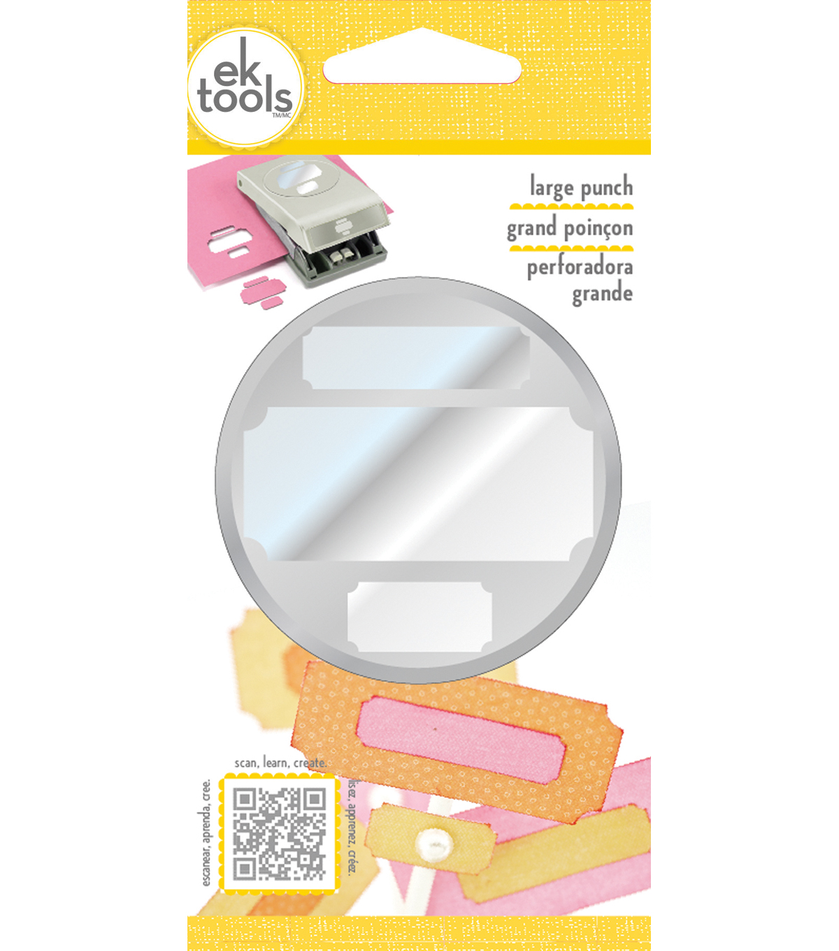 Large Punch-Photo Labels, .5\u0022 To 2\u0022