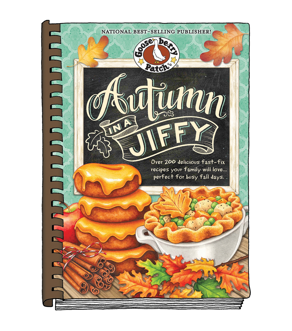 Autumn In A Jiffy Recipe Book