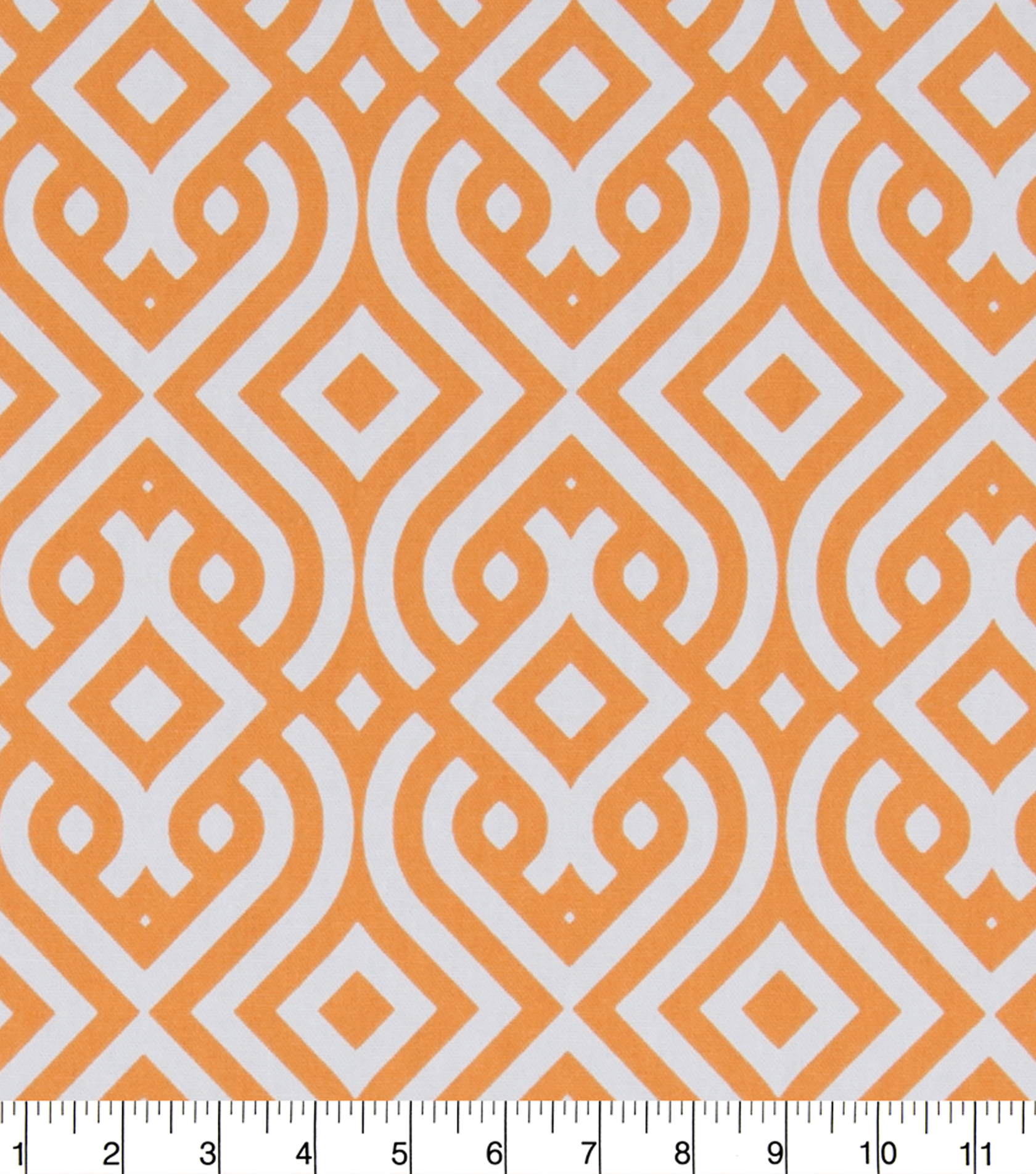 "Home Essentials Print Fabric 45""-Orange Clezar Panorama"